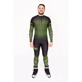 """Лыжный костюм """"Round mesh"""" (Мужской) Зеленый"""