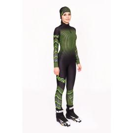 "Лыжный костюм ""Round mesh"" (Женский) Зеленый"