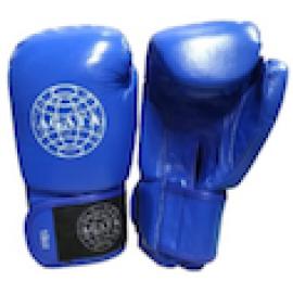 Перчатки для бокса (кожанные) AG синий