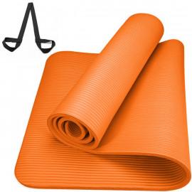 Коврик Универсальный НБК 1 см(оранжевый) с ремнем для переноски