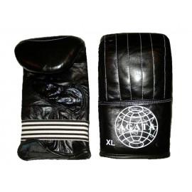 Перчатки снарядные (Кожанные, черный)SGAG-928-90