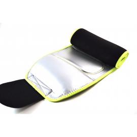 Пояс для похудения с карманом. (Термофольга) Желтый