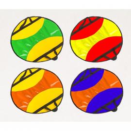 Ледянка круглая с усиленной ручкой ПВХ (45см)