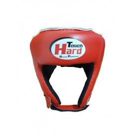 Шлем для бокса открытый (PVC, красный)HGHT-002-40