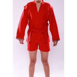 Куртка для самбо/кадет (Таджикистан) Красный, размер