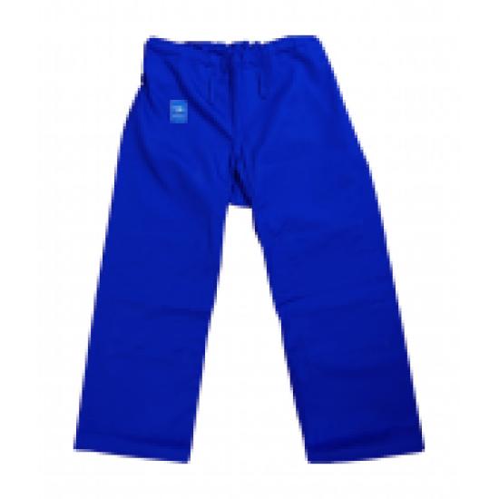 Брюки для дзюдо (Таджикистан) Синий, размер 140